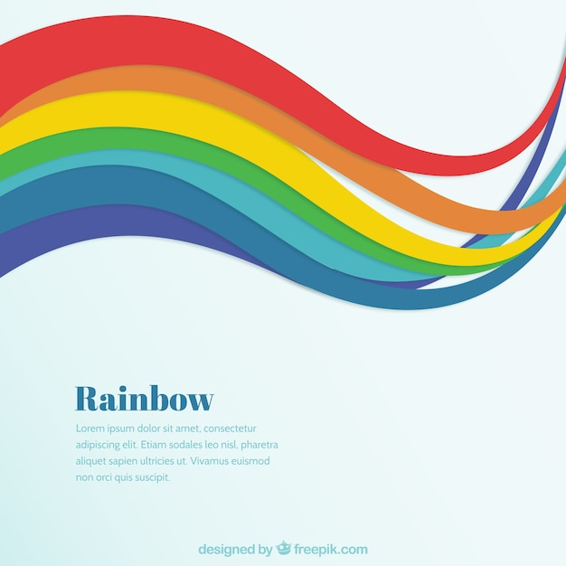 rainbow background vector free download rh freepik com rainbow vector background rainbow vector image