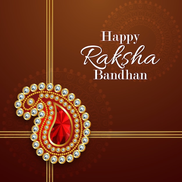Raksha bandhan greeting card design for happy raksha bandhan vector raksha bandhan greeting card design for happy raksha bandhan premium vector m4hsunfo