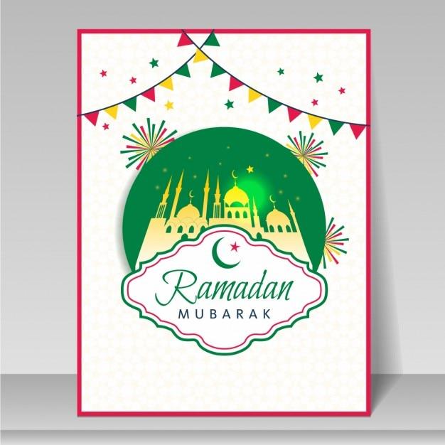 Ramadan greeting card vector free download ramadan greeting card free vector m4hsunfo