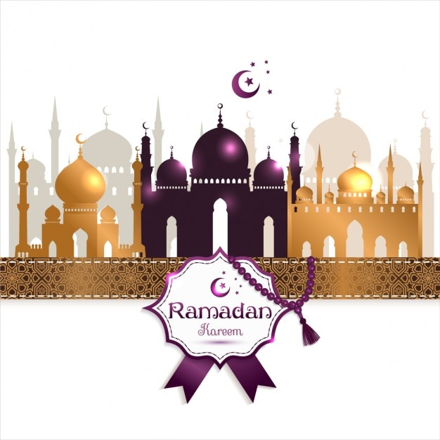 Background Maulid Nabi dan Ramadhan
