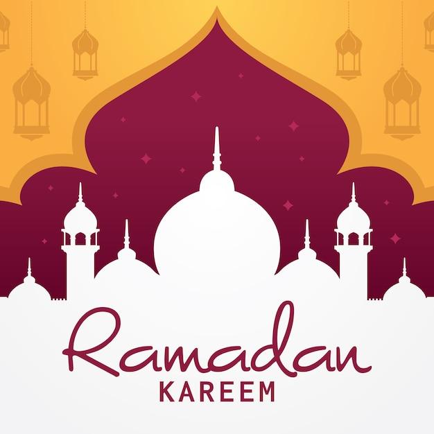 ramadan kareem greeting card islamic vector design mosque rh freepik com islamic vector eps islamic vector eps