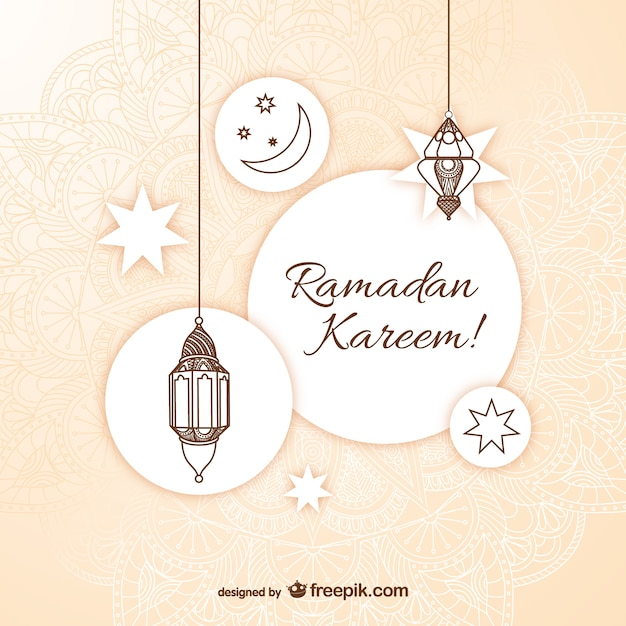 Ramadan kareem greeting card vector free download ramadan kareem greeting card free vector m4hsunfo
