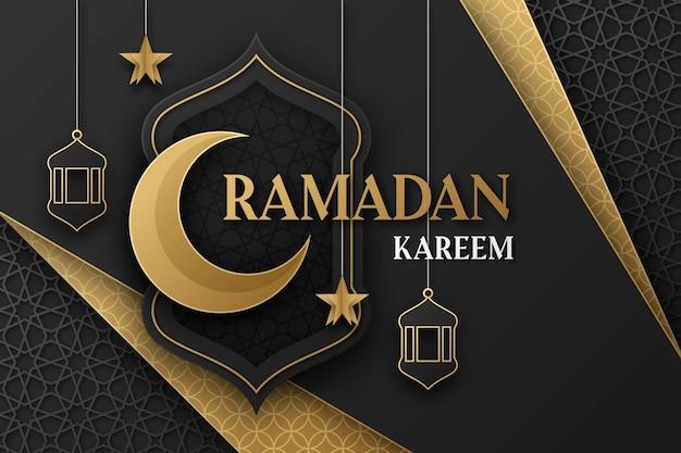 Gambar atau poster ilustrasi Ramadhan design by Pikisuperstars.