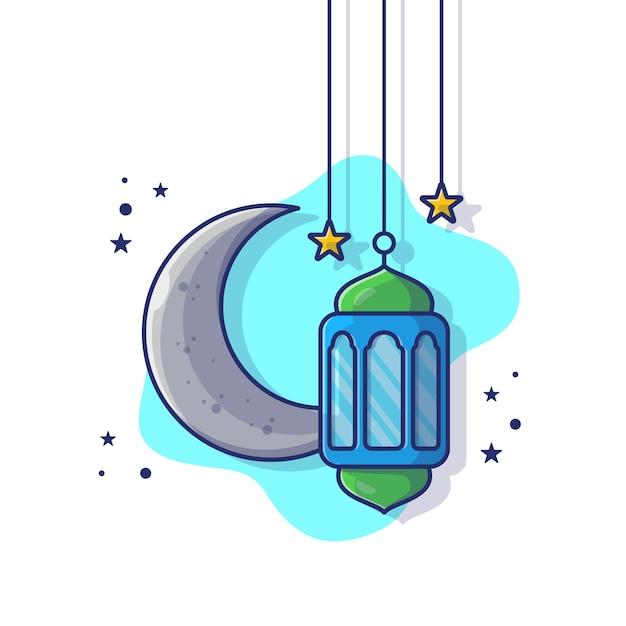 Рамадан фонарь лампа Premium векторы