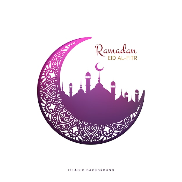 Ramadan vector background Free Vector