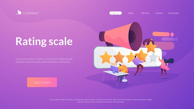 Rating scale Free Vector