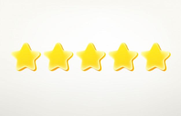 Рейтинг звезд клипарт. Premium векторы