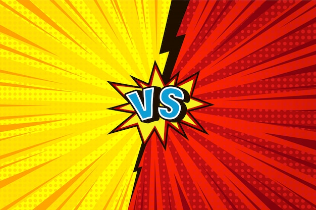 Rays and halftone versus background Free Vector