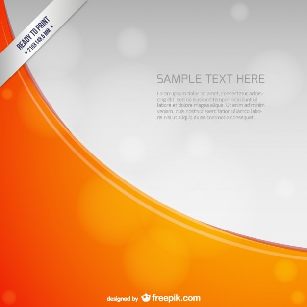 Ready to print background template Vector | Free Download