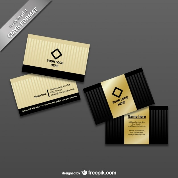 Ready to print business card template vector free download ready to print business card template free vector reheart Choice Image