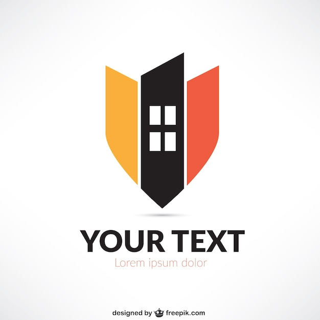 Real estate abstract logo Vector | Free Download