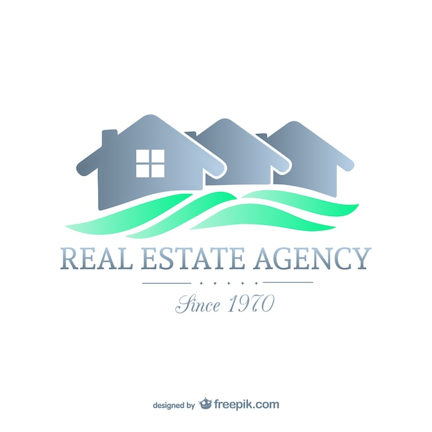 Real estate agency Premium Vector