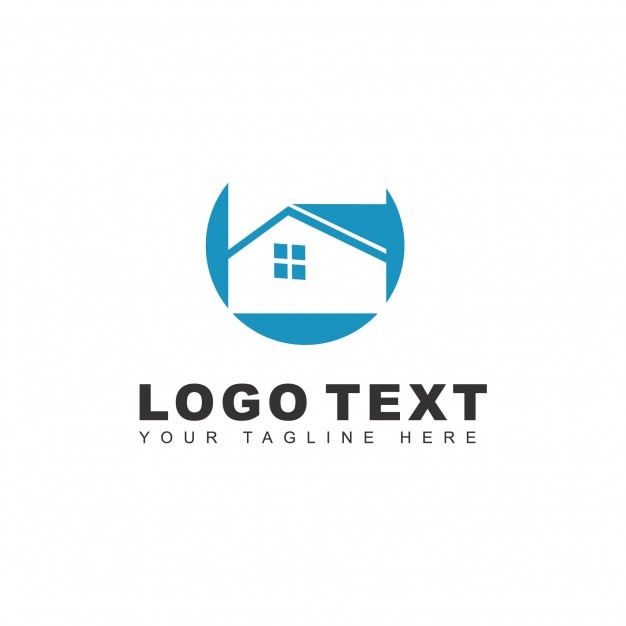 Real estate agent logo Vector | Free Download
