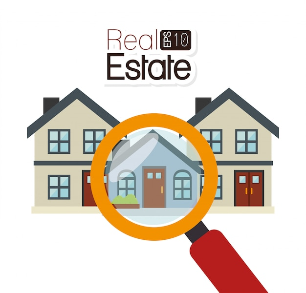 Real estate business Premium Vector