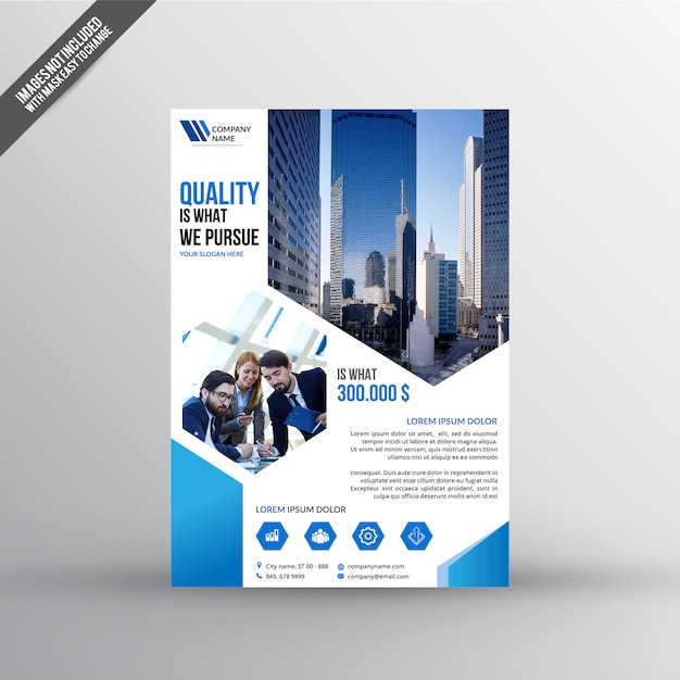 Real Estate Flyer Template Vector  Premium Download