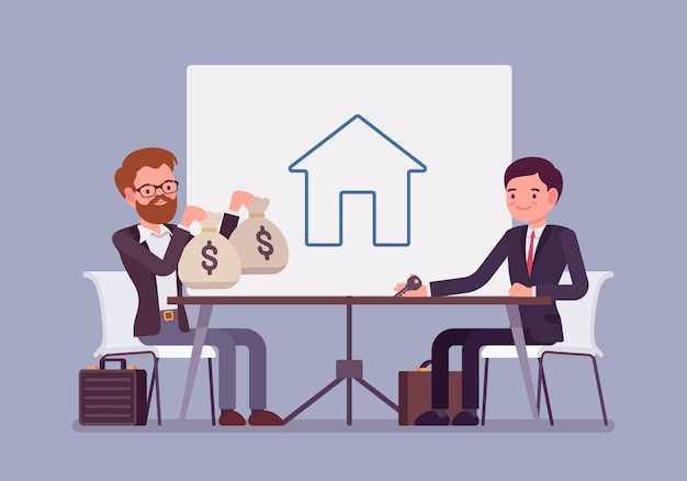 Real estate investment Premium Vector