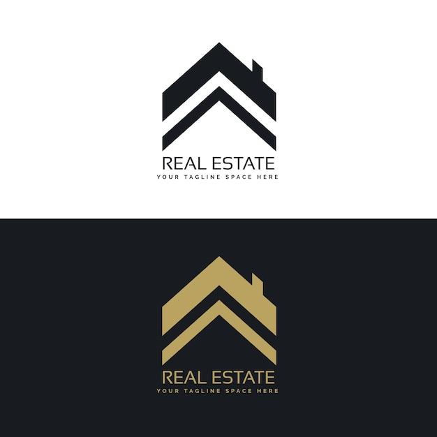 Real Estate Logo Design Concept Vector Free Download
