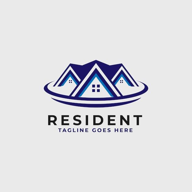 Шаблон дизайна логотипа недвижимости - строительство и архитектура здания логотип Premium векторы