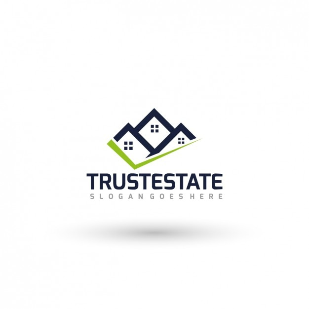 real estate logo template vector free download