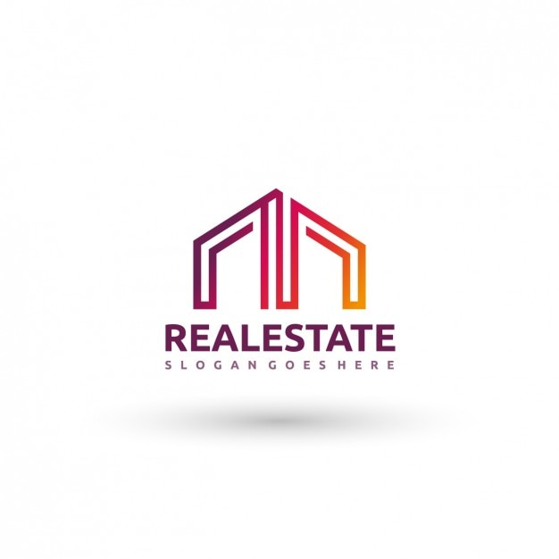 Real estate logo template vector free download for Immobilienfirmen