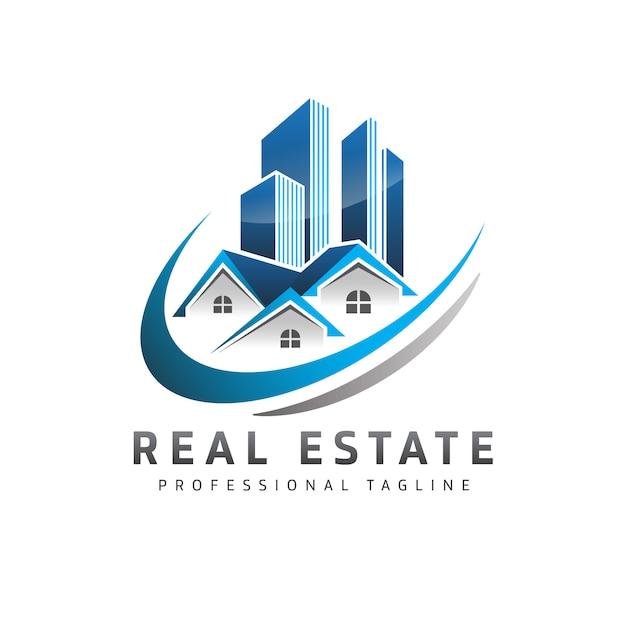 Real estate logo Premium Vector