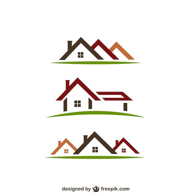 real estate logos vector free download