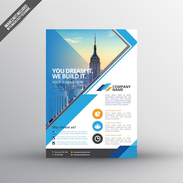Realestate Flyer Template Vector Premium Download