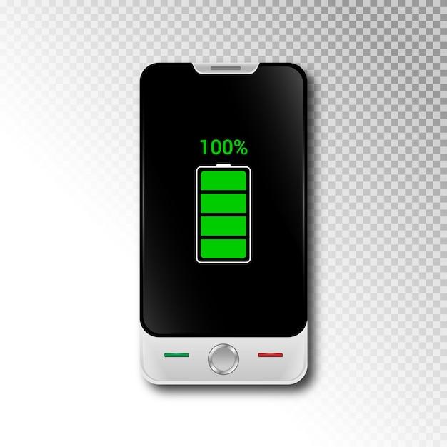 Realistic 3d smartphone Premium Vector