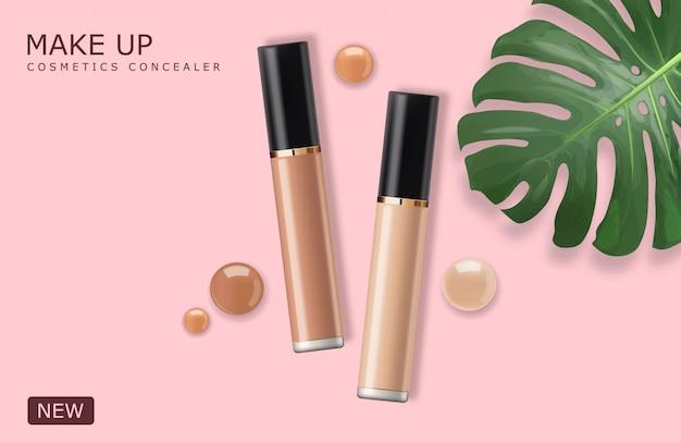 Realistic Concealer Bottle Makeup
