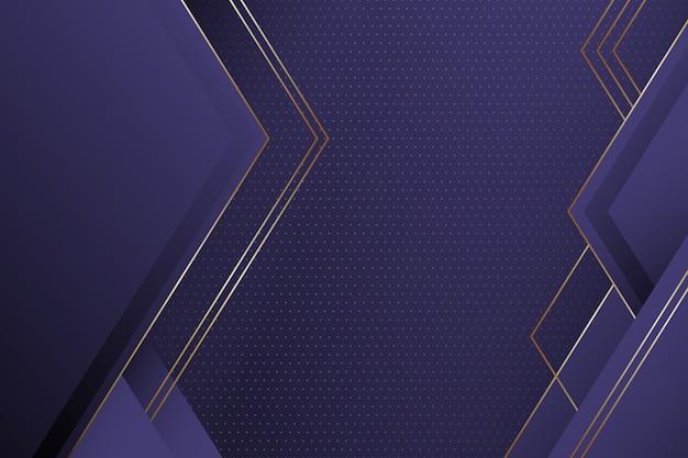 Realistic elegant geometric shapes wallpaper Free Vector