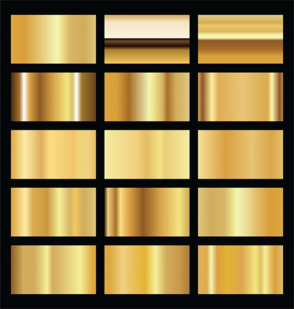 Realistic gold background texture Premium Vector