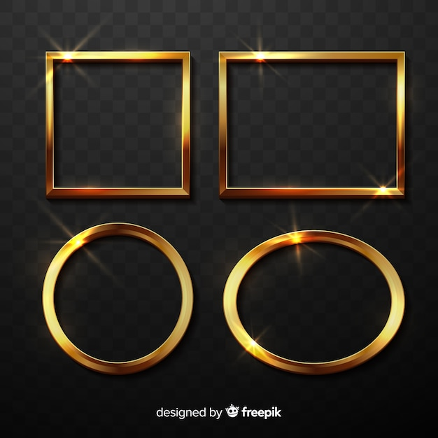 73b4e6d7998c Gold Frame vectors and photos - free graphic resources