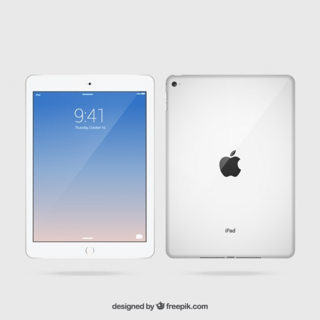 Realistic ipad Vector | Premium Download