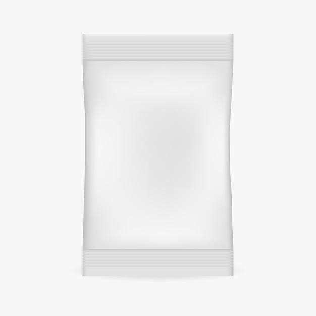 Реалистичный пакет. макет Premium векторы