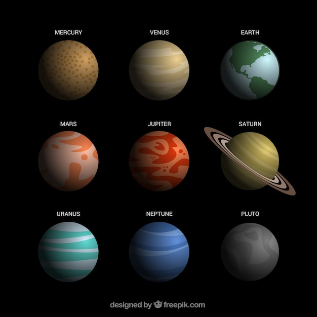 realistic solar system from above - photo #24