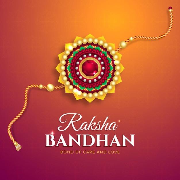 Realistic raksha bandhan concept Free Vector