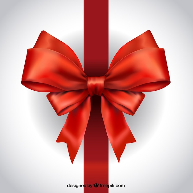 realistic red ribbon vector free download