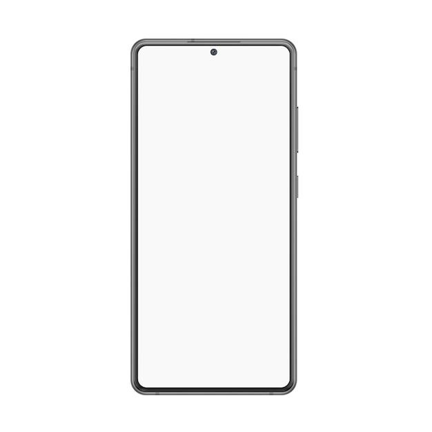 Реалистичная иллюстрация смартфона. Premium векторы