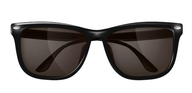 Realistic sunglasses, spectacles Premium Vector