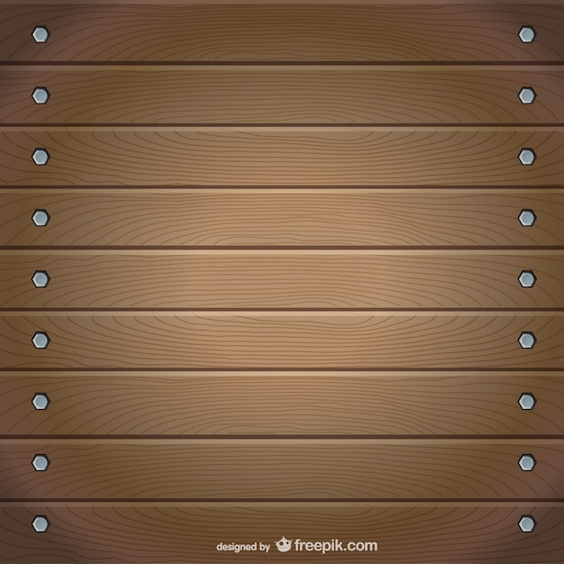 Realistic wooden tables vector Free Vector