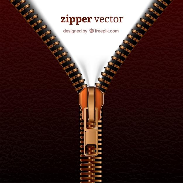 Realistic zipper | Free Vector