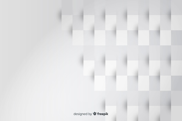 Rectangle geometric shapes from paper background Free Vector