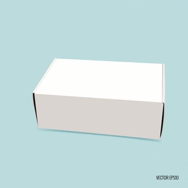 Rectangular Blank Box Vector Free Download