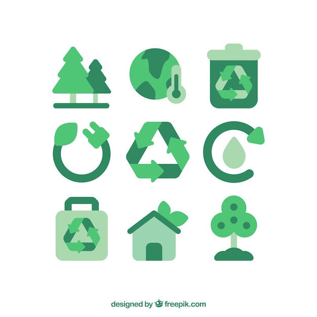 Recycle Icon Vectors