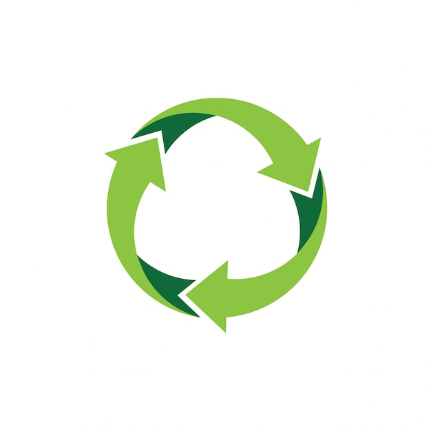 recycle logo or icon vector design vector premium download