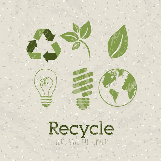 Recycle Premium Vector