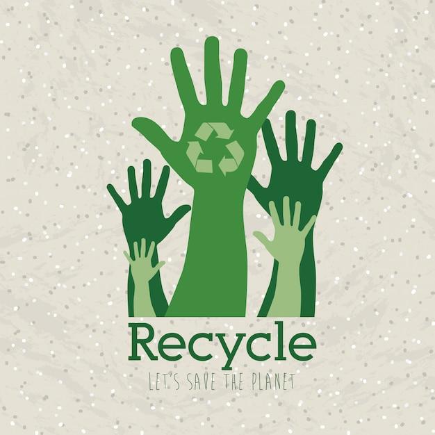 Recycle Premium Vector