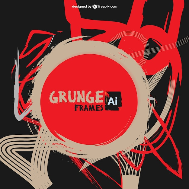 free vector grunge red - photo #26