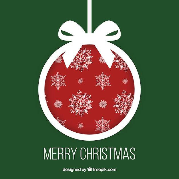Red and white christmas label vector free download for Christmas red and white