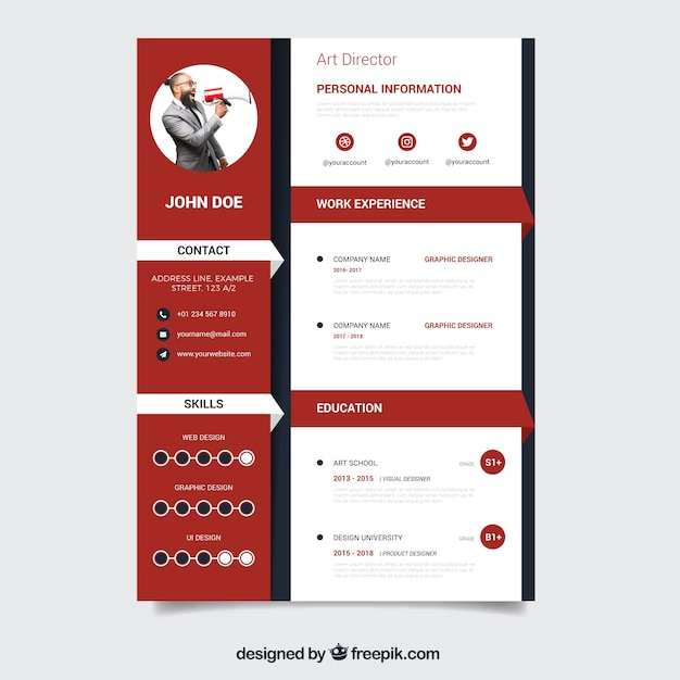 curriculum vitae vectors  photos and psd files